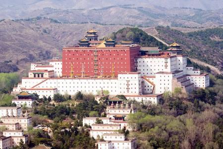 potala: Putuo Zongcheng Temple (copy of Potala palace of Lhasa), Chengde, Hebei province, China Stock Photo