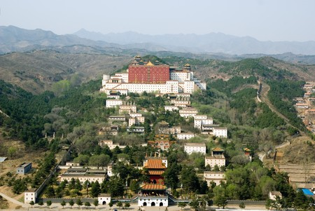 hebei province: Putuo Zongcheng Temple (copy of Potala palace of Lhasa), Chengde, Hebei province, China Stock Photo