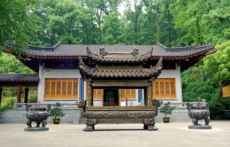 confucian: Confucian temple, Hangzhou, China