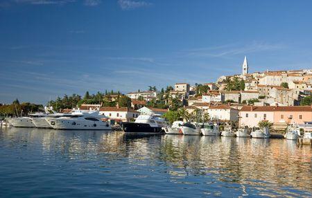 Marina di Orsera, Istria, Croazia Archivio Fotografico - 4503428