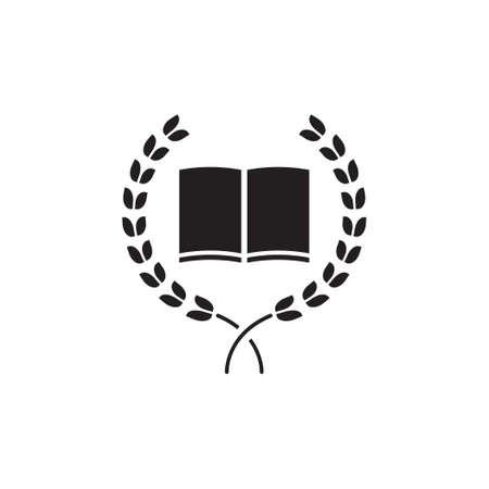 school vector icon logo design