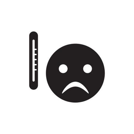 sick vector icon design