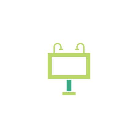 advertising banner vector icon design template