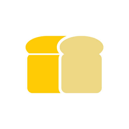 toast vector icon design template