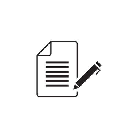 writing feedback vector icon design template Vector Illustratie