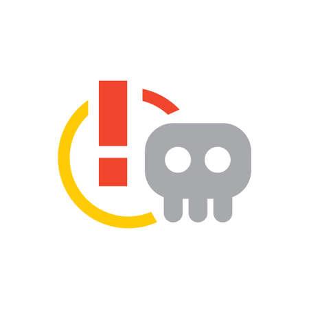 scam vector icon design template