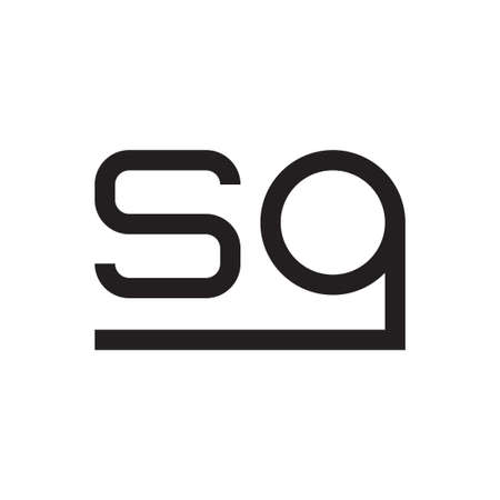 sg initial letter vector  icon
