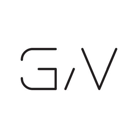 gn initial letter vector logo icon