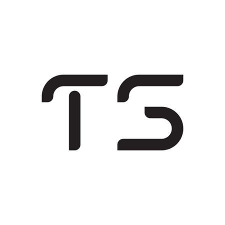 ts initial letter vector logo icon