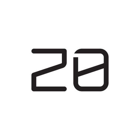zo initial letter vector logo icon
