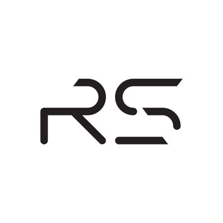 rs initial letter vector logo icon Logo