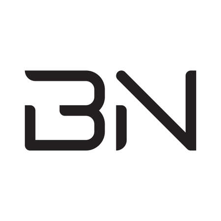 bn initial letter vector logo icon Logó