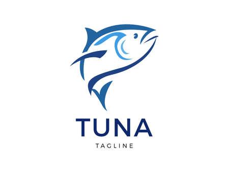 tuna vector template design
