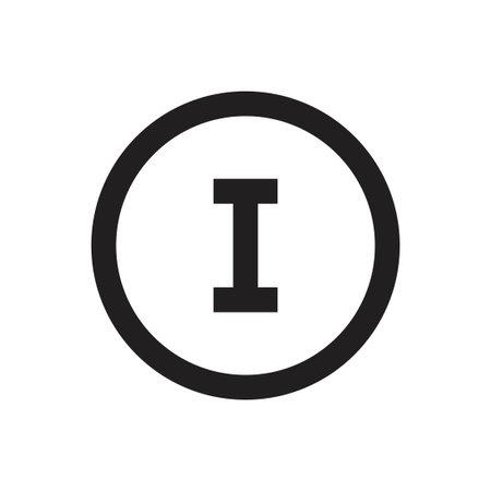 oi initial letter vector logo Logo