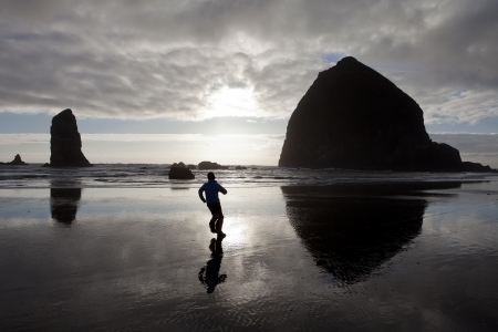 limitless: Running to sunset