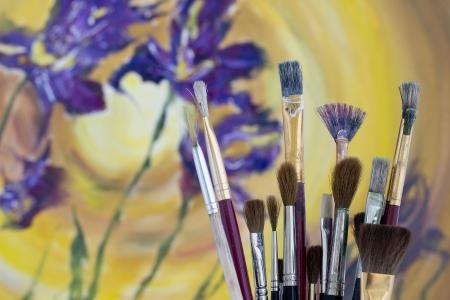 accomplishing: Professional Paint Brushes