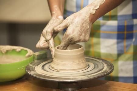 sculpting: Pottery