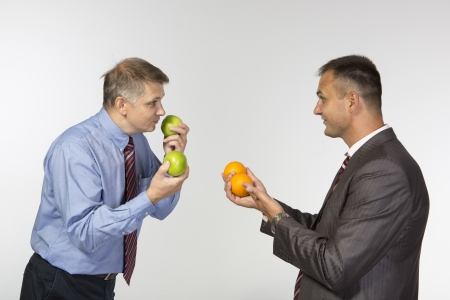 convince: Comparing apples to oranges