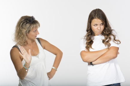 disobedient: Mother daughter fight