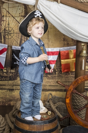 Young pirate photo