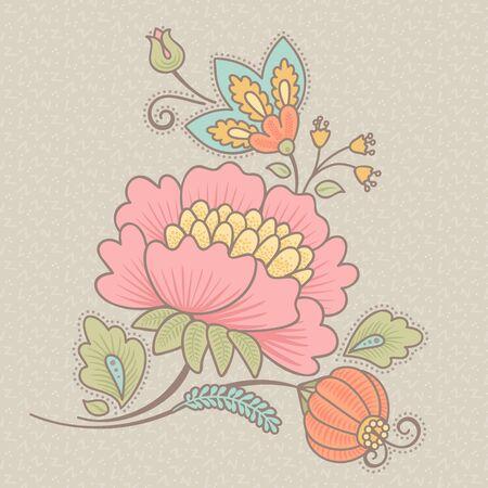 vintage style vector ornament element