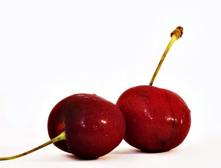 with two: Two Cherries