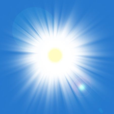 BIG Summer Sun Stok Fotoğraf