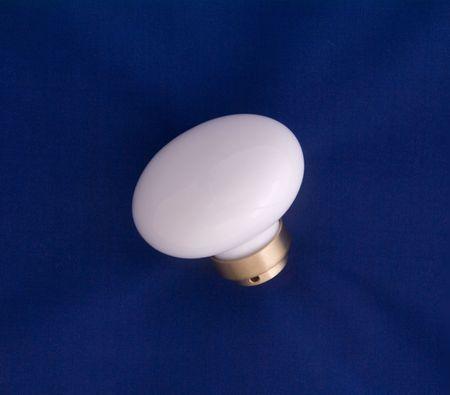 Porcelain door handle, detached Stock fotó