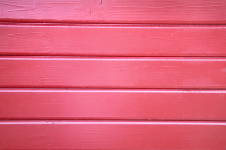 wooden hut: Red wooden wall .. part of a small wooden hut