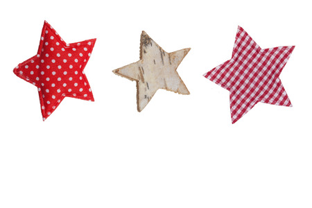 exempted: Christmas Decorations - Three Star exempted from fabric and wood
