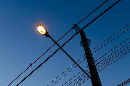 Lamp Post at Night