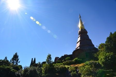 Pagoda at North of Thailand