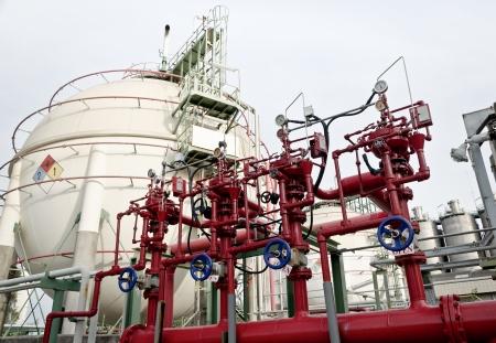 industria petroquimica: sistemas de hidrantes contra incendios seguridad en la planta petroquímica