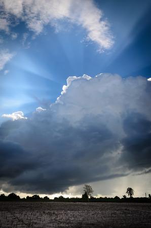 stupendous: Big Clouds over farmland