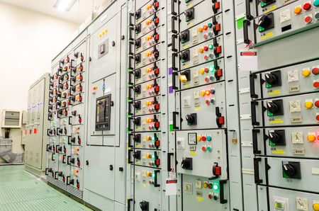 substation: electrical substation industrial plant