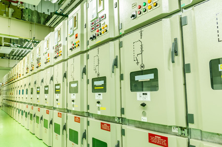 electrical substation industrial plant