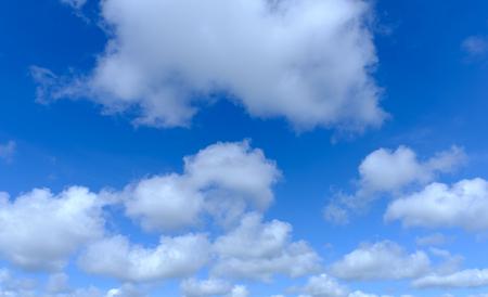 beautyful: blue sky with cloud close up beautyful day Stock Photo