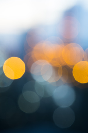 Abstract of circular light bokeh background,defocused blur background