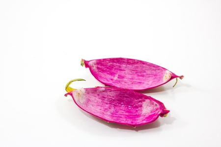 the empty dragon fruit photo