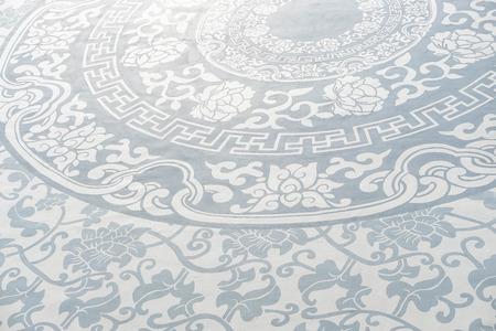 Close up light blue porcelain background