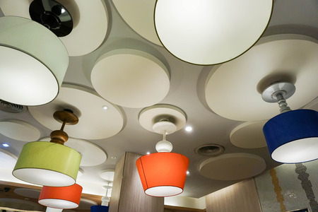 ceiling lamps: creative design of colorful ceiling lamps