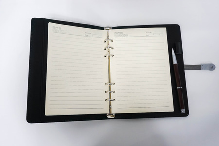 xerox: isolated mock up notebook for message