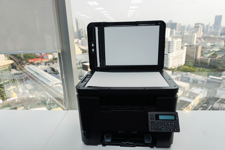 documenting: office multifunctional printer for business documenting scanning