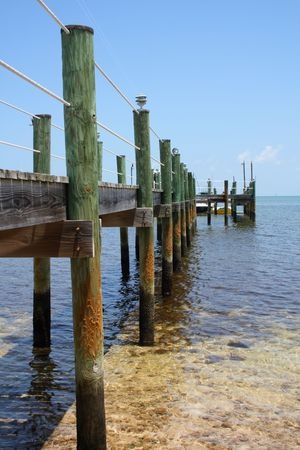 Wooden pier  Stock Photo - 3569394