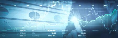 Investment Stock Exchange 版權商用圖片