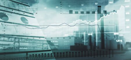 Industry economy background