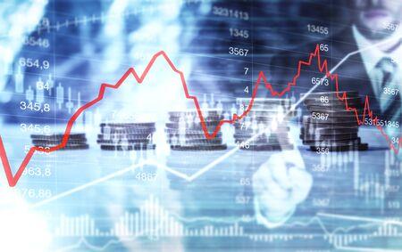 Finace investment money 版權商用圖片