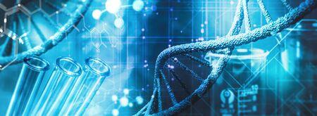 Chemical and genetic research 版權商用圖片