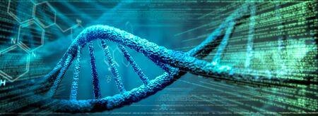 DNA Research Genetic 版權商用圖片