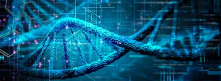 DNA Research Genetic 스톡 콘텐츠